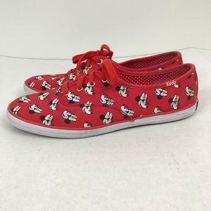 Keds X Disney Minnie Mouse Canvas Champion Shoes